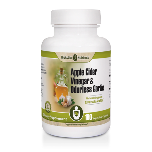 Gluten-free | Animal-free | Yeast-free Day-to-day living exposes our bodies to all kinds of challenges to internal health. Apple Cider Vinegar & Odorless Garlic is expertly formulated to help maintain intestinal integrity, in support of stronger overall health*