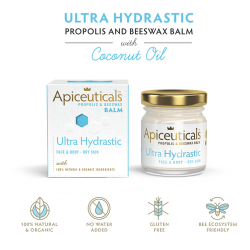 A powerful concentrated & multipurpose Ultra Moisturizing Balm, with bioactive ingredients designed to moisturize, nourish, and protect your skin.