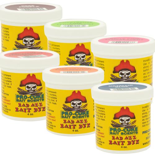 Pro-Cure Bad Azz Powder Bait Dye 4oz