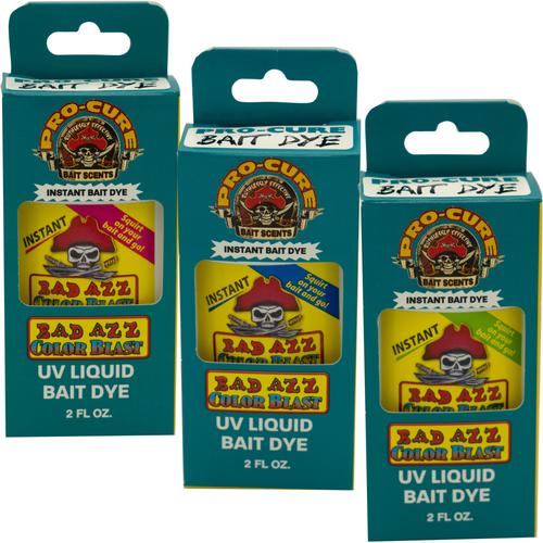 Pro-Cure color blast bait dye