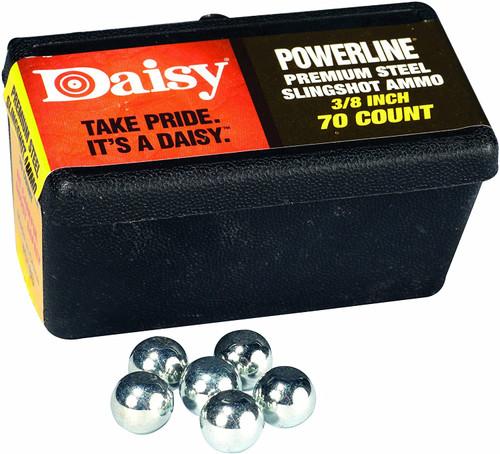 DAISY 1/4-INCH POWERLINE STEEL SLINGSHOT AMMO