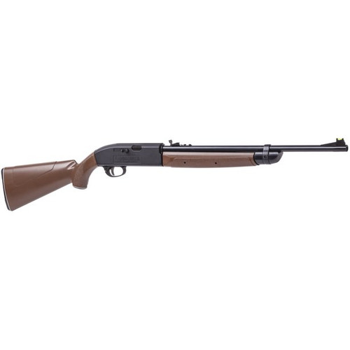 Crosman 2100 Classic .177 Pellet / BB Pneumatic Pump Air Rifle, Brown