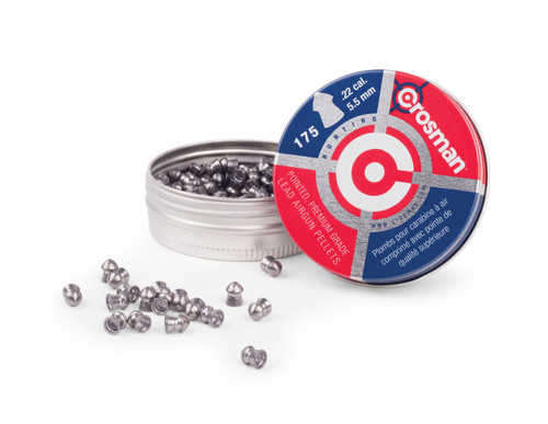 Crosman Pointed Pellet (.22) 175 Count