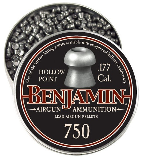 Crosman Benjamin Hollow Point Hunting Pellet (.177)