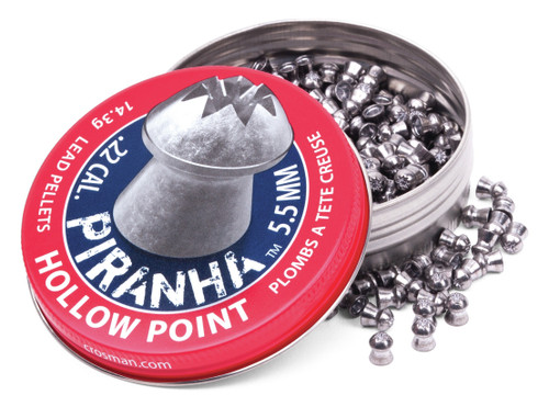 Crosman Piranha Hollow Point Pellet (.22)