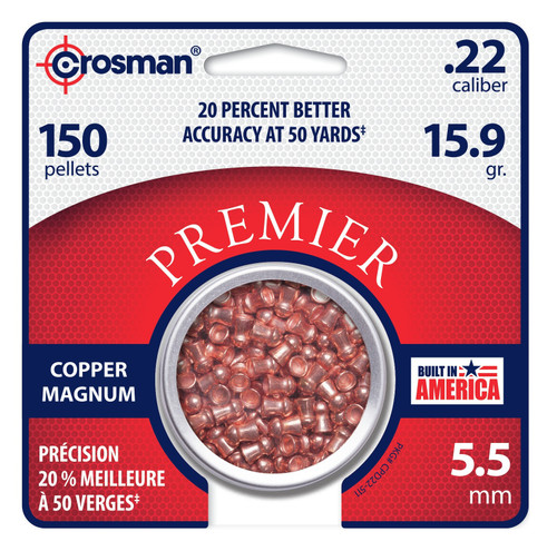 Crosman Copper Magnum Domed Pellet (.22)
