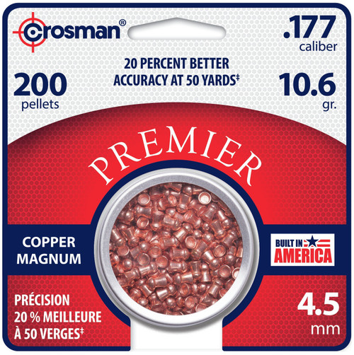 Crosman Copper Magnum Domed Pellet (.177)