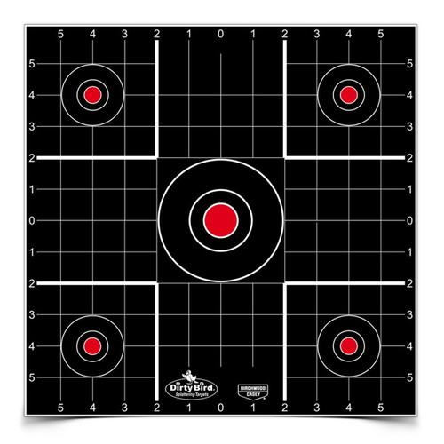"Birchwood Casey Dirty Bird 12"" Sight-In (12 Pack)"