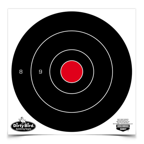 "Birchwood Casey Dirty Bird 8"" Bulls-Eye (25 Pack)"