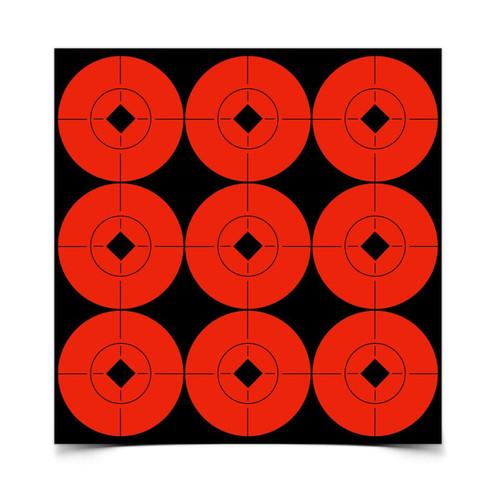 "Birchwood Casey Target Spots Orange 2"" (90 Count)"