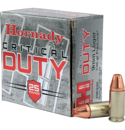 Hornady 9mm 135gr Flexlock Critical Duty