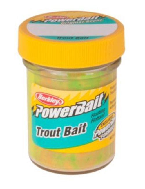 Berkley power bait dough jar - Rainbow