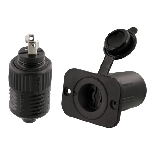 Scotty 12V Downrigger Plug and Receptacle from Marinco 2125
