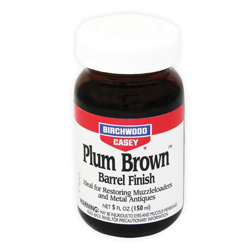 Birchwood Casey Plum Brown Barrel Finish 5 oz. Bottle