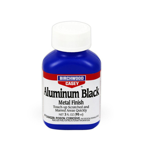 Birchwood Casey Aluminum Black Metal Finish 3 oz. Bottle