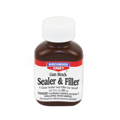Birchwood Casey Gun Stock Sealer & Filler 3 oz. Bottle