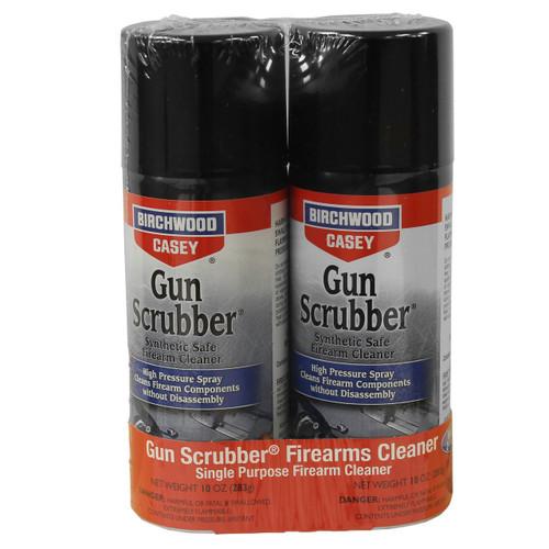 Birchwood Casey Gun Scrubber Aerosol Combo 2-Pack Cleaner