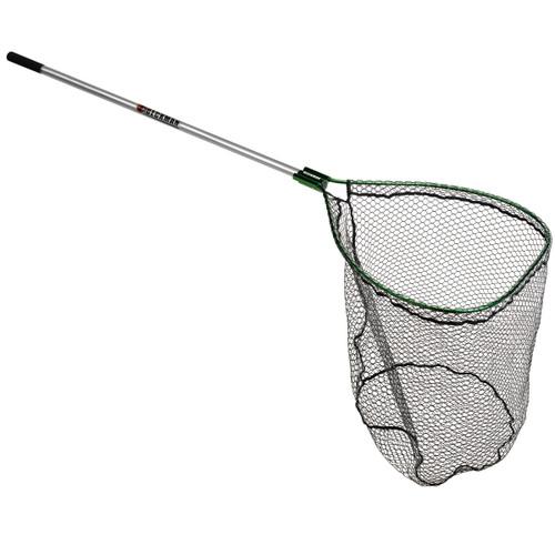 """Beckman 26x34"""" Knotless Green Net w/4' Handle"""