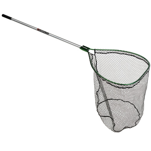 "Beckman 26x34"" Knotless Green Net w/6' Handle"