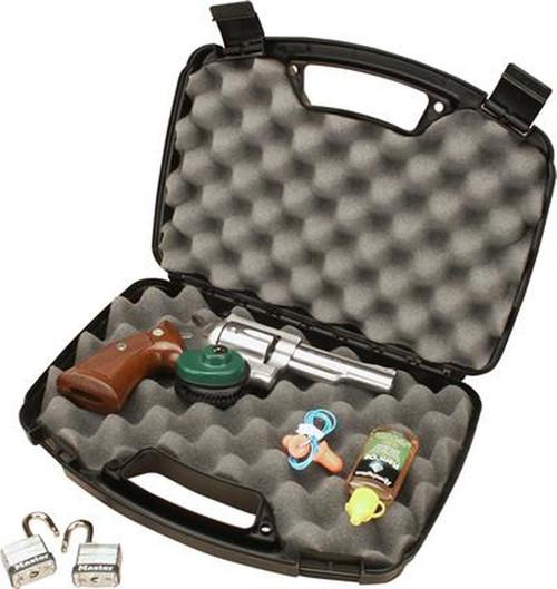 MTM Single Handgun Case Black 807-40