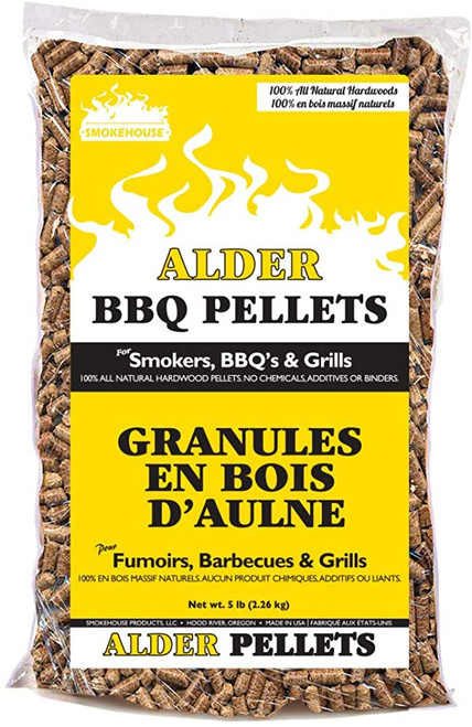 Smokehouse BBQ Pellets All Natural Hardwood Flavors 5lb. Bag