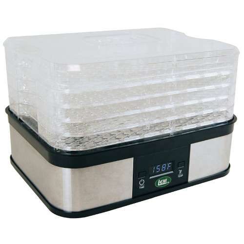 LEM 5-Tray Digital Dehydrator
