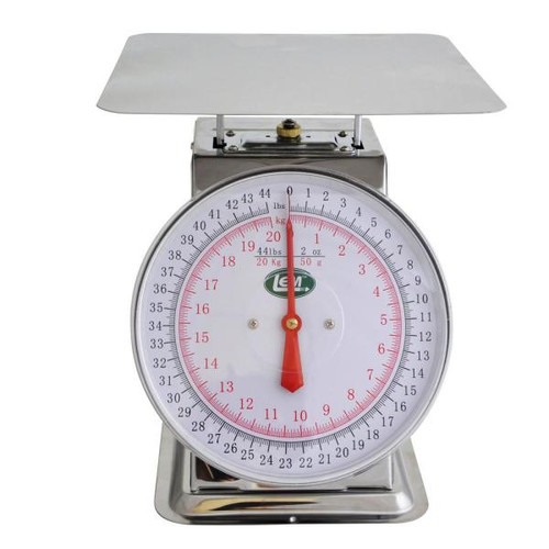 LEM 44Lb Stainless Steel Scale