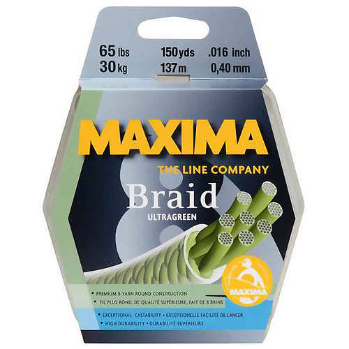 Maxima Green Braid 150Yrds