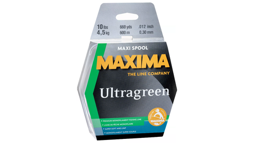 Maxima Ultra Green Maxi Spools (660 Yards)