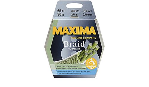 Maxima Green Braid (300 Yards)