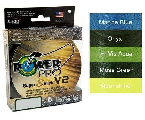 Power Pro Slick Moss Green (150 Yards)