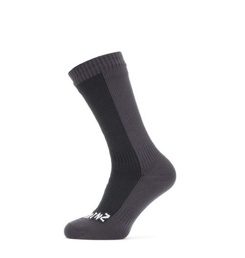 SealSkinz Waterproof Cold Weather Mid Rise Socks