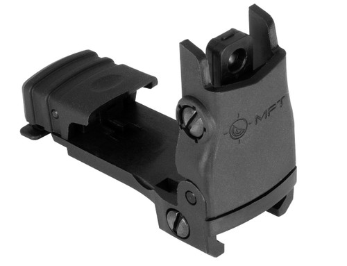 Mission First Tactical Flip-Up Rear Sight (Black)
