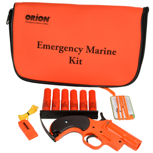 Orion Coastal Alert Flare Kit With Accessories