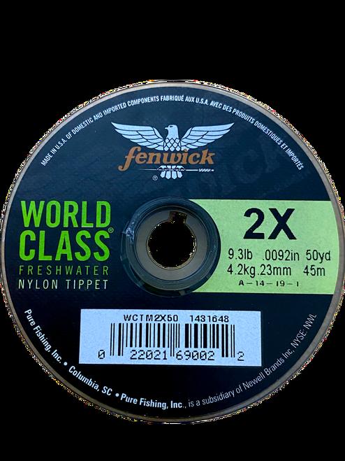 World Class Freshwater Nylon Tippet