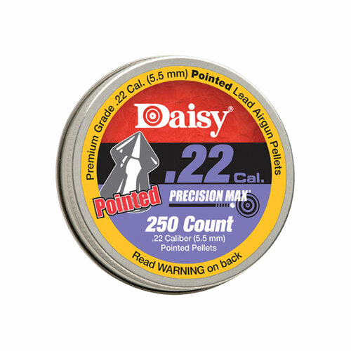 .22 Caliber PrecisionMax Pointed Pellets, 250-Count