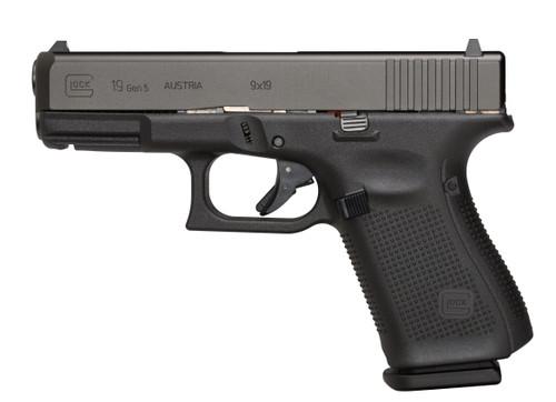 """Glock 19 Gen5 9mm 15 round 4.02"""""""