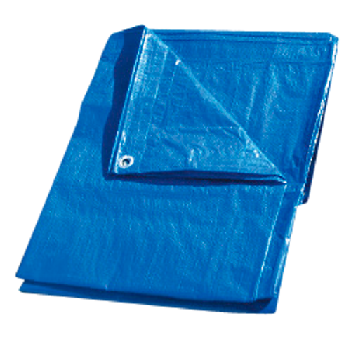 Regular Duty Blue Poly Tarps