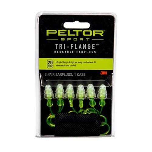 Sport Tri-Flange™ Reusable Earplugs