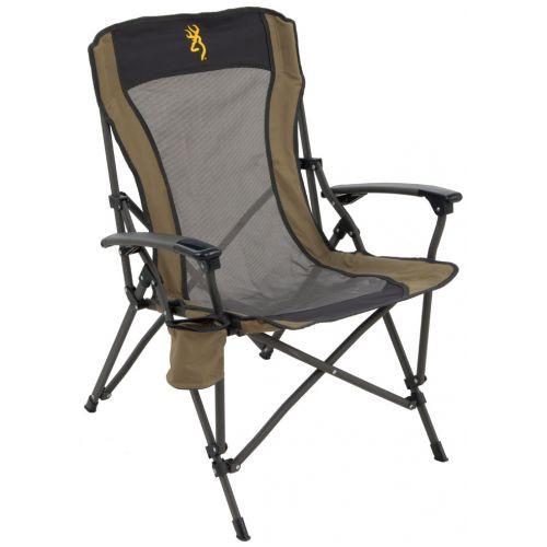 Fireside Chair Gold Browning Buckmark