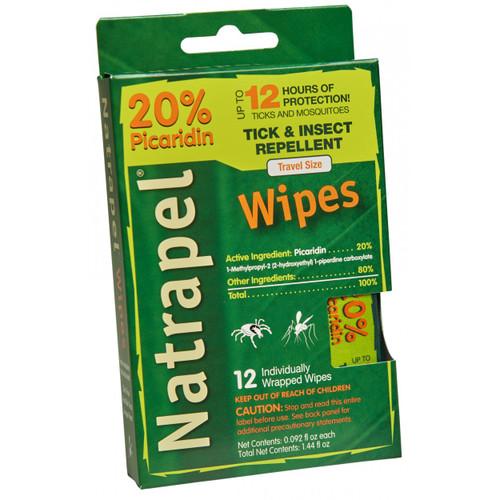 Natrapel® 12-hour Wipes