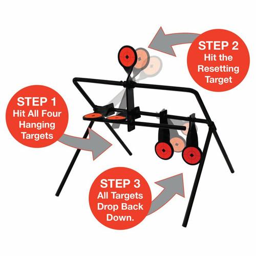 Gallery® Resetting Rimfire Target