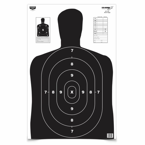 "Eze-Scorer™ 23""x35"" Black Target- 5 Pack"