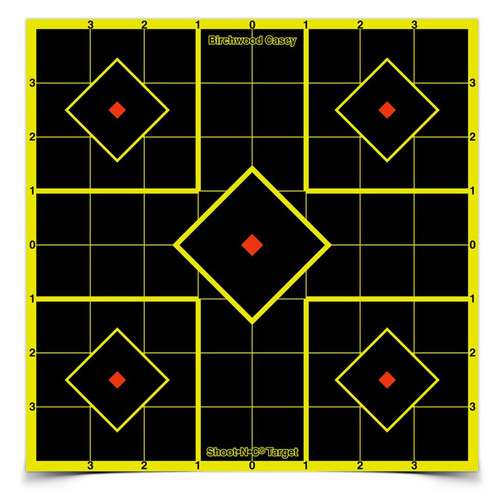 """Shoot•N•C® 8"""" Sight-In Targets- 6 Targets & 32 Pasters"""