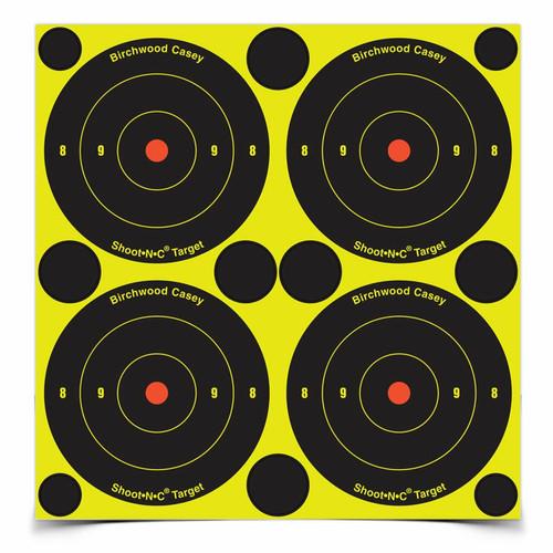 """Shoot•N•C® 3"""" Bull's-Eye- 200 Targets & 600 Pasters"""