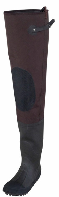 Rubber Hip Boot w/ Knee Harness