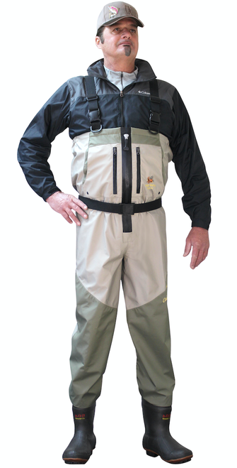Zippered Deluxe Plus Breathable Boot Foot Wader