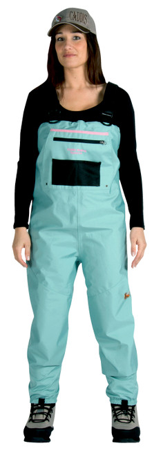 Deluxe Womens Breathable Stockingfoot Waders– Teal