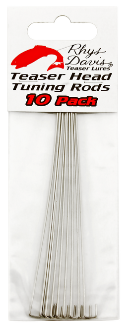 Teaser Head Tuning Rods 10-Pack