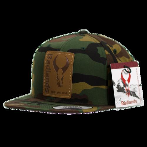 Army Camo Flatty Hat